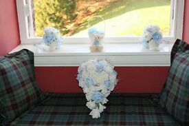 Winter wedding Decorations and flowers
