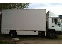 MAN 10-163 Truck with 16ft fibreglass box-body.