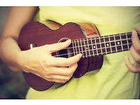 Group Ukulele Lessons for Beginners starting 12th January at Out of the Blue