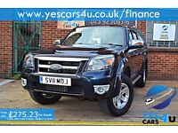 """"""""""" FINANCE AVAILABLE """"""""2011 (11) Ford Ranger Pick Up Double Cab, 12 Months MOT As Standard!!"""