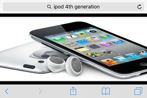 Wanted iPod 4th gen