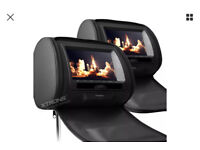 Twin Headrest DVD System