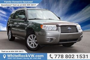 2006 Subaru Forester XS LOCAL VEHICLE