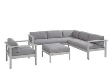4 Seasons Outdoor Loungeset met Loungestoel Galaxy Seashe...