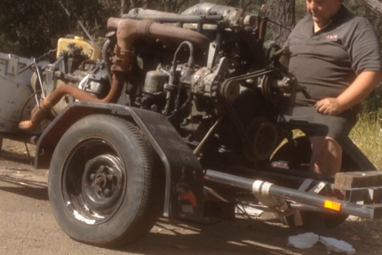 HINO 6 cylinder...6.1 liter & gearbox... Gosford Gosford Area Preview