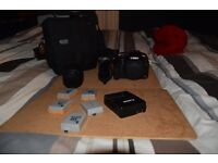 DSLR Canon 500D / Rebel T1i with SD card + more