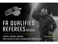 Football Referees needed for 6 a side league in Lancaster!