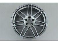 1 x Org Audi A4 S4 8K aluminum wheel rim 19 inch 8K0601025AA