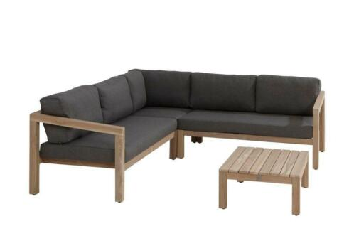 Hoekbank Evora Teak 4 Seasons Outdoor (Loungeset)