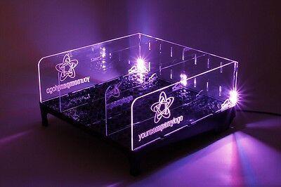 Liquor Bottle Glass Bar Advertising Absorber Led Lighted Bottle Display New 79