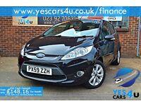 """FINANCE AVAILABLE""2009(59)Ford Fiesta Zetec, 1.2 Petrol, 12 Months MOT & 3 Months FREE RAC warranty"