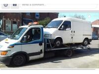 Top price paid for scrap cars and vans