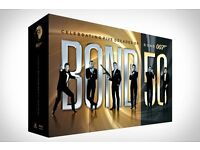 "JAMES BOND ""BOND 50"" DVD BOXSET"