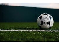 2 players needed for friendly 5 a side football today 6pm in Ealing