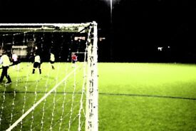We are looking for 7/8 a side players for friendly football on Tuesdays in Cambridge