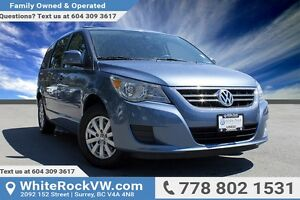 2011 Volkswagen Routan Comfortline ONE OWNER, DEALER SERVICED...