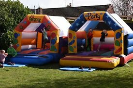 Bouncy castle buisness ready to make money 2010 van included