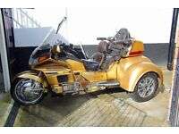 1991 Honda Goldwing Baron Trike GL1500SE. Serviced and Maintained from new by owner.Taxed/MOT £7,250