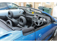 PEUGEOT 206 CC CABRIOLET AUTOMATIC SPORT 1.6 PETROL SERVICE HISTORY LONG MOT leather interior