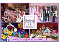Boutique Baby Sale - SWINTON