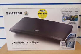 SAMSUNG ULTRA HD BLU-RAY PLAYER 4K UBD-M9000 BRAND NEW SEALED WITH WARRANTY AND RECEIPT