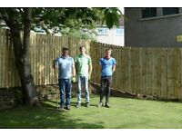 Fencing, Fences, Gates, Patios, Driveways, Chippings, Gardening, Small Walls and Sandstone Paving