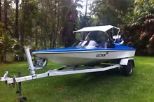 Bullet ski boat with rebuilt 135 evinrude Forster Great Lakes Area Preview