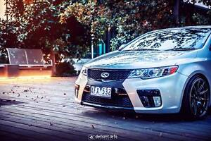 """Kia Cerato KOUP - BC COILS(LOWERED)+18""""RIMS+CCFL LIGHTS Noble Park North Greater Dandenong Preview"""
