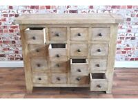 Rustic Farmhouse Apothecary Chest - New