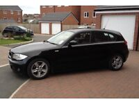 2005 BMW 1 SERIES 120D SPORT 170 BHP 6 SPEED 1 OWNER 2 KEYS LEATHER SPORT SEATS MOT8 MONTH HPI CLEAR