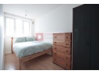 Spacious 3 or 4 Bed Flat in Mile End - East London E3