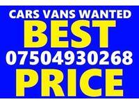 ☎️ 07504930268 WANTED CAR VAN BIKE SELL YOUR BUY MY SCRAP FOR CASH B