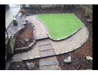 Garden makeover. Landscape and design