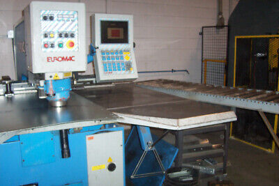 30 Ton Euromac Cx100030 Cnc Punch 78.74 X Axis Travel 39.37 Y Axis Travel .25
