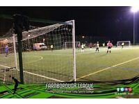Farnborough 6-a-side – Teams Needed!