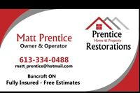 Prentice Home & Property Restorations