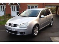 2005 VW Golf 2.0 Gt Tdi 140 Bhp, 6 Speed, Full History 2 Keys, Mot 12 Month, Rear Parking Sensors,