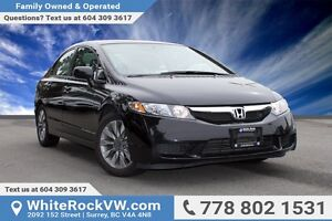 2010 Honda Civic EX-L LOW KM'S, BC VEHICLE, ONE OWNER