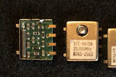 Stc-0008 N76s-25gs Vctcxo-n76s-20-5 Crystal Oscillator 20.000mhz 5v New Qty.2