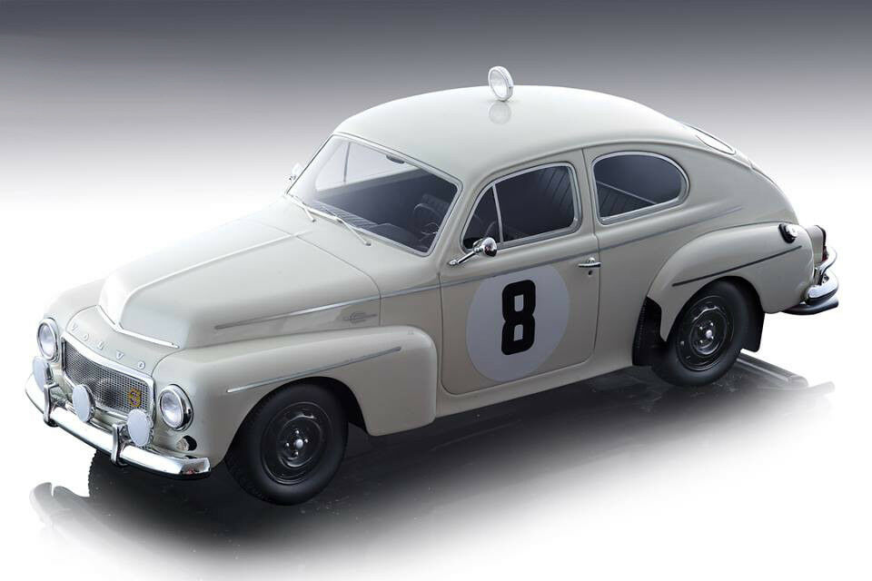 VOLVO PV 544 #22 RALLY MONTE CARLO 1965 LTD 60 PCS 1//18 BY TECNOMODEL TM18-106D