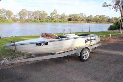 Meos Ski Boat - 350 Chev - ready to go for this ski season! Booleroo Centre Mount Remarkable Area Preview