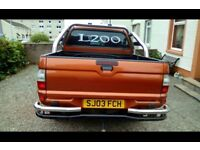 2003 Mitsubishi l200 custom 1 off paint 2.5 diesel swap