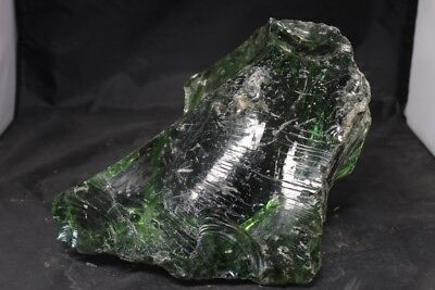 25LBS SLAG GLASS ROCK CULLET AQUARIUM LANDSCAPE FISH TANK GARDEN YARD ART #1261