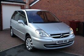 2006 CITROEN C8 2.0 HDI SX 6 SPEED, 70000 MILES, 7 SEATER, FULL HISTORY ONE OWNER, HPI CLEAR, CD