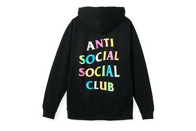 Anti Social Social Club X Frenzy Ill See You Soon Hoodie Assc Size Xl