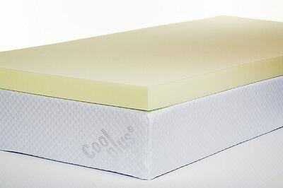 Bodymould Standard Memory Foam Mattress Topper - Single, Double, King & S King