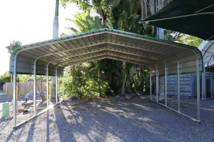 Fully Transportable Carport Sheds Brisbane City Brisbane North West Preview