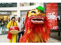 Chinese Lion & Dragon Entertainers