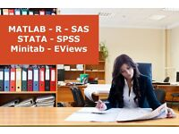 Statistical Mentoring & Help with Assignments - Matlab, R, SAS, Stata, SPSS, Minitab, EViews.