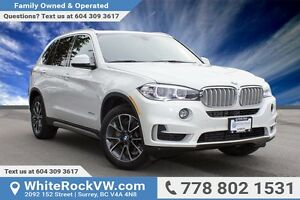 2016 BMW X5 xDrive35i NAVIGATION, HEATED STEERING WHEEL, BC V...